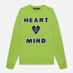 Мужская толстовка Billionaire Boys Club Heart And Mind Crewneck Green