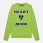 Мужская толстовка Billionaire Boys Club Heart And Mind Crewneck Green фото - 0