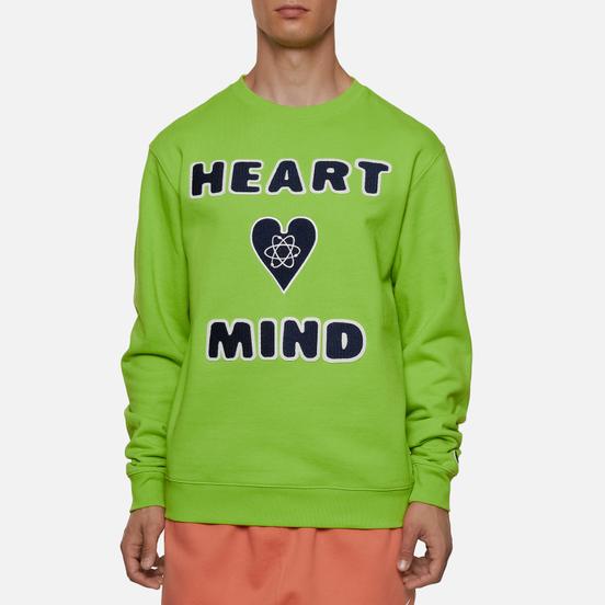 Мужская толстовка Billionaire Boys Club Heart And Mind Crewneck Green