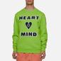 Мужская толстовка Billionaire Boys Club Heart And Mind Crewneck Green фото - 3