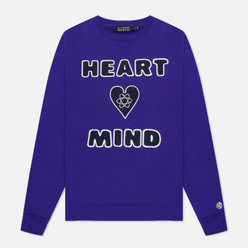 Мужская толстовка Billionaire Boys Club Heart And Mind Crewneck Purple