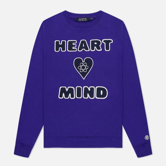 Мужская толстовка Billionaire Boys Club Heart And Mind Crewneck Purple