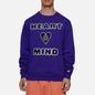 Мужская толстовка Billionaire Boys Club Heart And Mind Crewneck Purple фото - 3