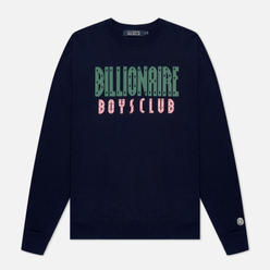 Мужская толстовка Billionaire Boys Club Straight Logo Crewneck Navy
