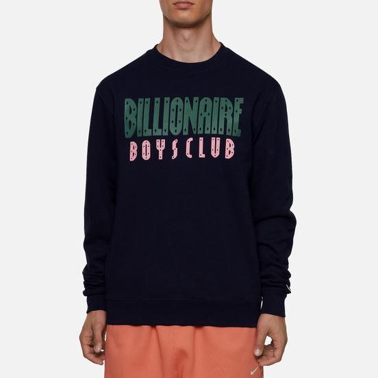 Мужская толстовка Billionaire Boys Club Straight Logo Crewneck Navy