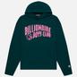 Мужская толстовка Billionaire Boys Club Arch Logo Hoodie Green фото - 0