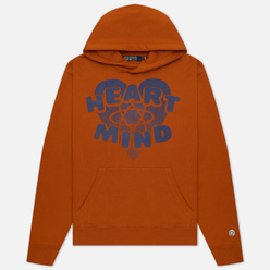 Мужская толстовка Billionaire Boys Club Heart And Mind Hoodie Brown