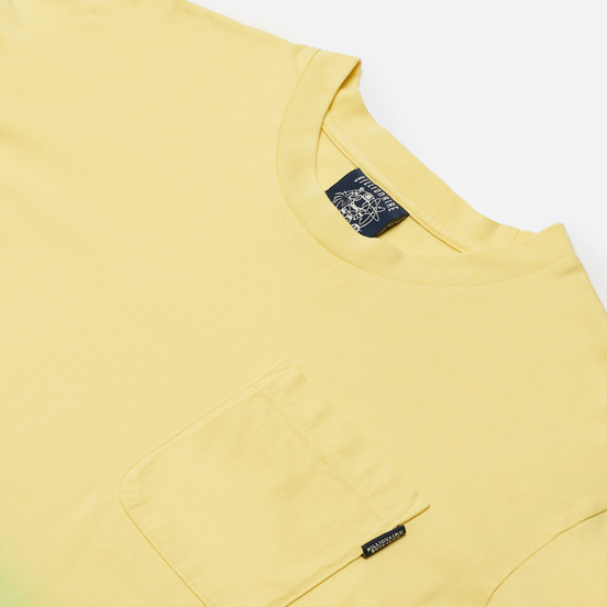 Мужской лонгслив Billionaire Boys Club Dip Dye Lime