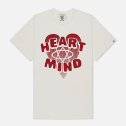 Мужская футболка Billionaire Boys Club Heart And Mind Grey