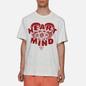 Мужская футболка Billionaire Boys Club Heart And Mind Grey фото - 3