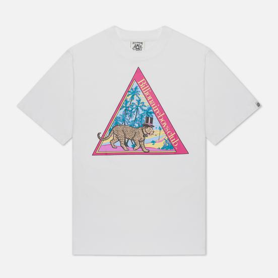 Мужская футболка Billionaire Boys Club Leopard White
