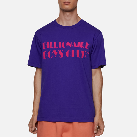 Мужская футболка Billionaire Boys Club Logo Purple
