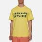 Мужская футболка Billionaire Boys Club Logo Yellow фото - 3