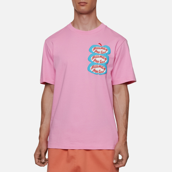 Мужская футболка Billionaire Boys Club Apple Pink