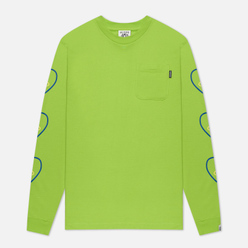 Мужской лонгслив Billionaire Boys Club Heart And Mind Lime