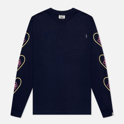 Мужской лонгслив Billionaire Boys Club Heart And Mind Navy