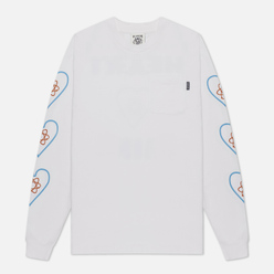 Мужской лонгслив Billionaire Boys Club Heart And Mind White