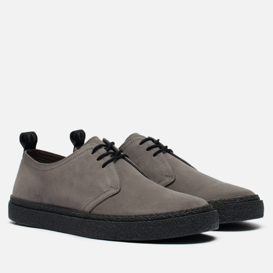 Мужские ботинки Fred Perry Linden Suede Charcoal/Black