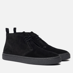 Мужские ботинки Fred Perry Hawley Suede Black/Black