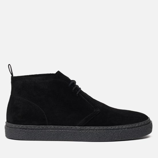 Мужские ботинки Fred Perry Hawley Suede Black/Black