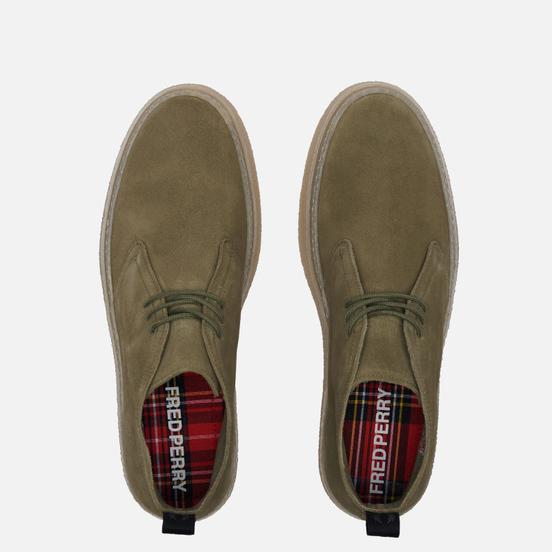 Мужские ботинки Fred Perry Hawley Suede Wren