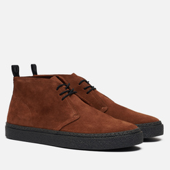 Мужские ботинки Fred Perry Hawley Suede Ginger