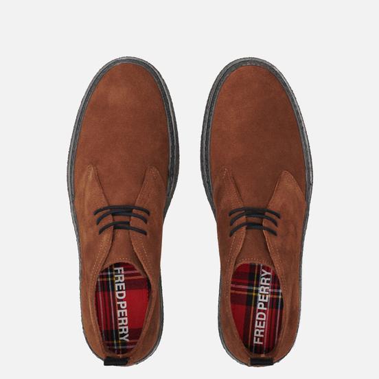 Мужские ботинки Fred Perry Hawley Suede Ginger