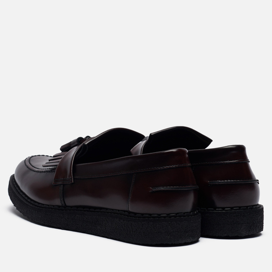 Мужские ботинки лоферы Fred Perry x George Cox Tassel Oxblood