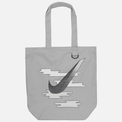 Сумка Nike Heritage Tote GFX Light Smoke Grey/Dark Smoke Grey
