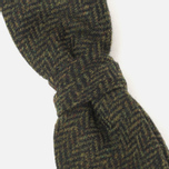 Мужская бабочка Barbour Tweed Green Herringbone фото- 1