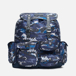 Рюкзак Barbour x White Mountaineering Wave Rucksack Blue фото- 0