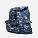 Рюкзак Barbour x White Mountaineering Wave Rucksack Blue фото- 1