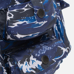 Рюкзак Barbour x White Mountaineering Wave Rucksack Blue фото- 7