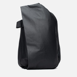 Cote&Ciel Isar Coated Canvas/Leather Backpack Black photo- 0