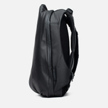 Cote&Ciel Isar Coated Canvas/Leather Backpack Black photo- 2