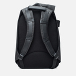 Cote&Ciel Isar Coated Canvas/Leather Backpack Black photo- 3