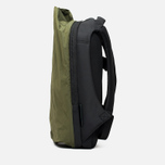 Cote&Ciel Isar Twin Touch Memory Tech Backpack Olive Green/Black photo- 3