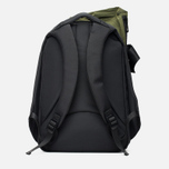 Cote&Ciel Isar Twin Touch Memory Tech Backpack Olive Green/Black photo- 4