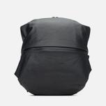 Cote&Ciel Meuse Coated Canvas/Leather Backpack Black photo- 0
