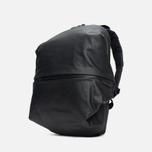 Cote&Ciel Meuse Coated Canvas/Leather Backpack Black photo- 1