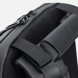 Cote&Ciel Meuse Coated Canvas/Leather Backpack Black photo- 4