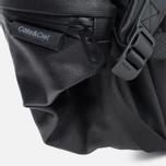 Cote&Ciel Meuse Coated Canvas/Leather Backpack Black photo- 5