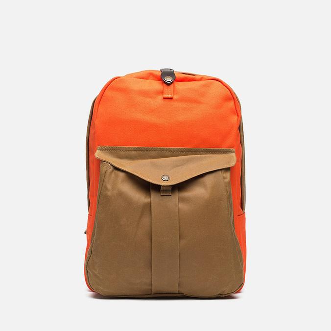 Filson Twill Backpack Tan/Orange