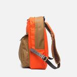 Filson Twill Backpack Tan/Orange photo- 2