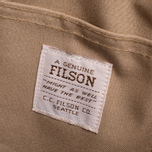 Filson Twill Backpack Tan/Orange photo- 9