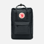 Рюкзак Fjallraven Kanken Laptop 15 Inch Black фото- 0