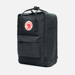 Рюкзак Fjallraven Kanken Laptop 15 Inch Black фото- 1