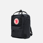 Рюкзак Fjallraven Kanken Mini Black фото- 1