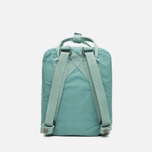 Fjallraven Kanken Mini Backpack Frost Green photo- 3
