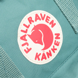 Рюкзак Fjallraven Kanken Mini Frost Green фото- 4